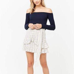🧡Ruffle Mini Skirt